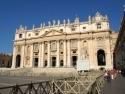 Chrám sv.Petra, průčelí - Vatikán