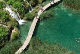 Hétvége a Plitvicei- tavaknál