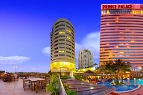 9 Éj Pattaya (Jomtien Palm B.) + 3 Éj Bangkok (Prince Palace)