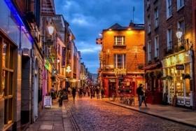 Városnézés Dublinban