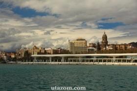 Városnézés Malagában