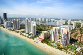 Tengerparti Pihenés Miami Beachen