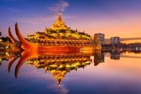 Burma - Körutazás Az Arany Pagodák Országában