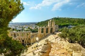 Tavaszköszöntő Athénban - Repülővel