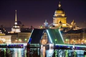Szilveszter Szentpéterváron 5* moszkvai városnézéssel