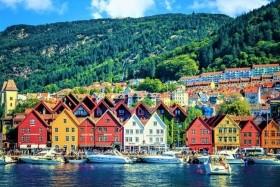Bergen És A Norvég Fjordok - Csoportos Utazás Magyar Idegenvezetéssel 2019.04.28.-05.01.