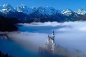 Neuschwanstein Kastélya És Salzburg