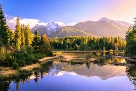 Csorba-tó és a Magas-Tátra vízesései - 3nap/2éj