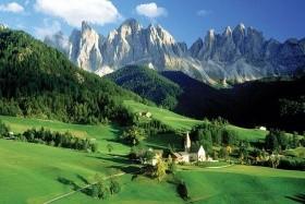 Az olasz Alpok természeti szépségei