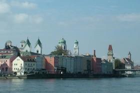 Hajózás A Felső-Dunán Passauig