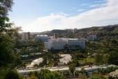 Kilátás a hotelre