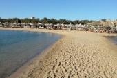 Homokpad  a strandon