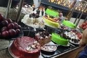 étterem édesség