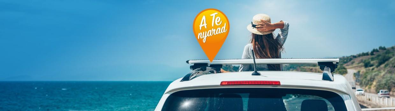 Ha a kocsi készen áll a nyaralásra, a szállásról gondoskodunk mi!