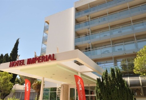 Vily hotelu Imperial