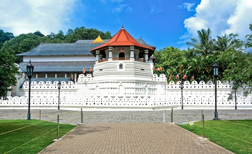 A Szent fogereklye temploma, Kandy