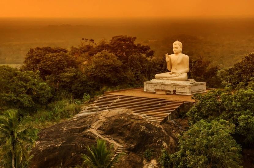 Buddhista épületek Sri Lanka