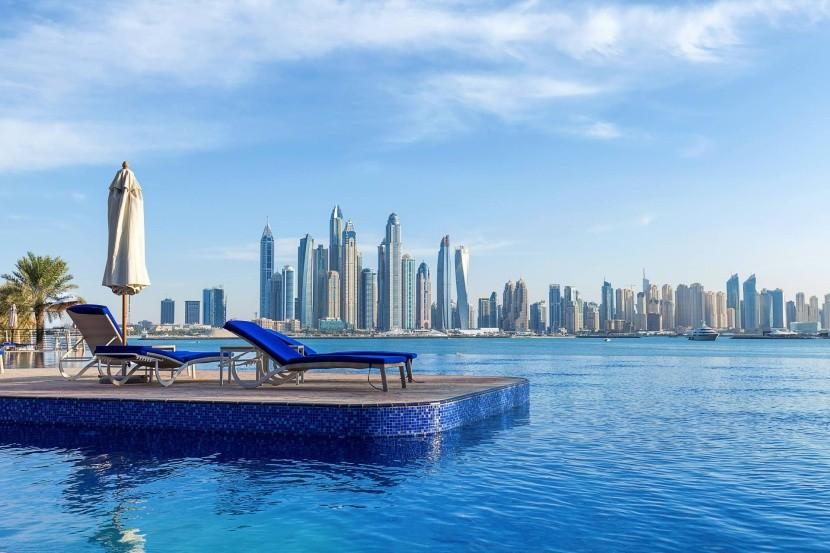 Kilátás Dubajra