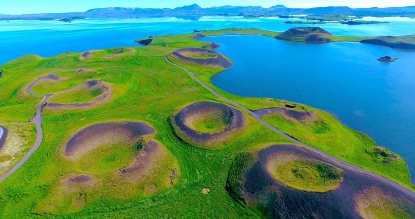 Mývatn tó, Izland