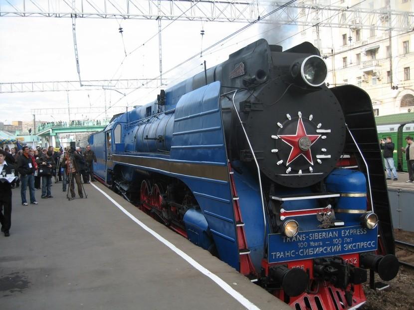 Transzszibériai Expressz híres vonat állomás