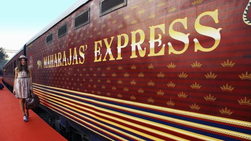 Maharadzsa Expressz híres vonat  vasút