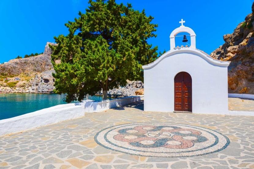 Görögország Rodoszi kápolna