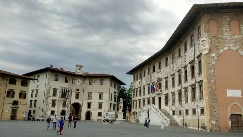 Piazza dei Cavalieri, Pisa, Olaszország