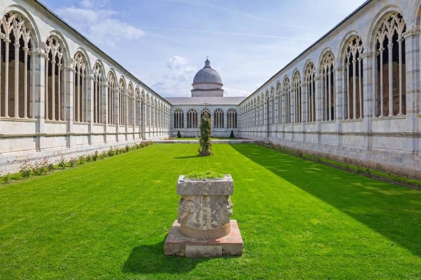 Temető (Camposanto), Pisa, Olaszország