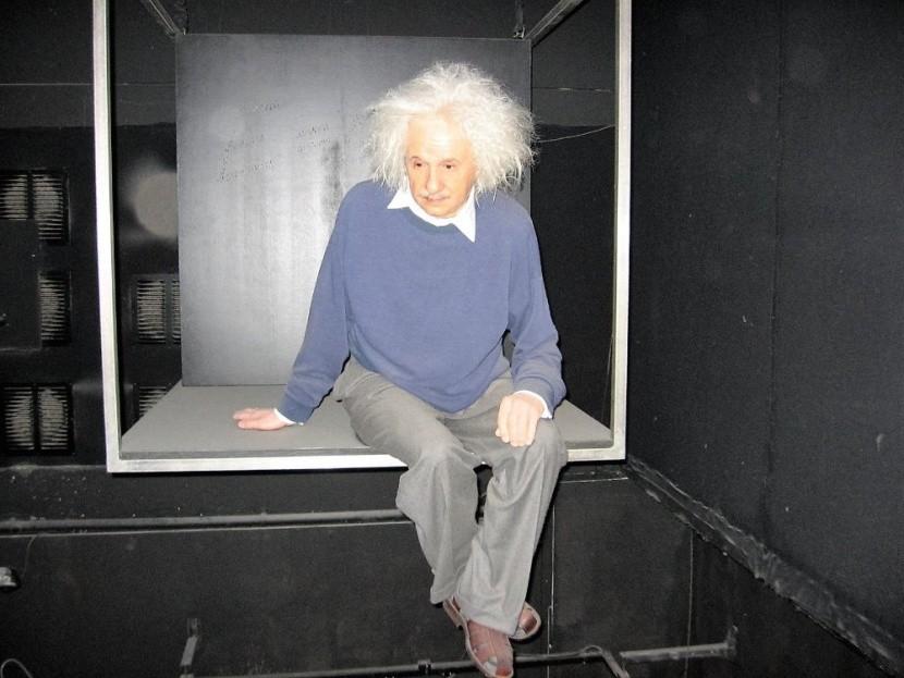 Madame Tussauds viasz szobor Albert Enstein