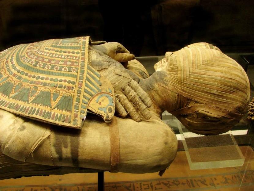 Kairó műemlék múzeum múmia II.Ramszesz fáraó