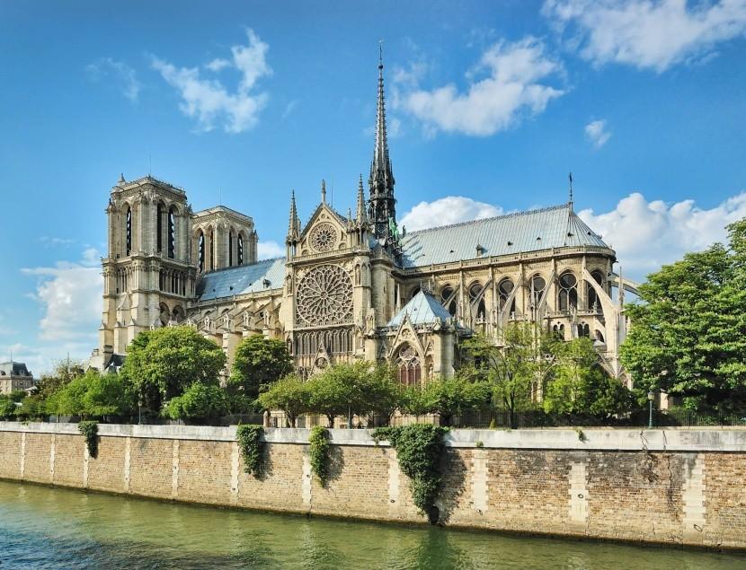 Notre-Dame székesegyház Párizs nevezetesség