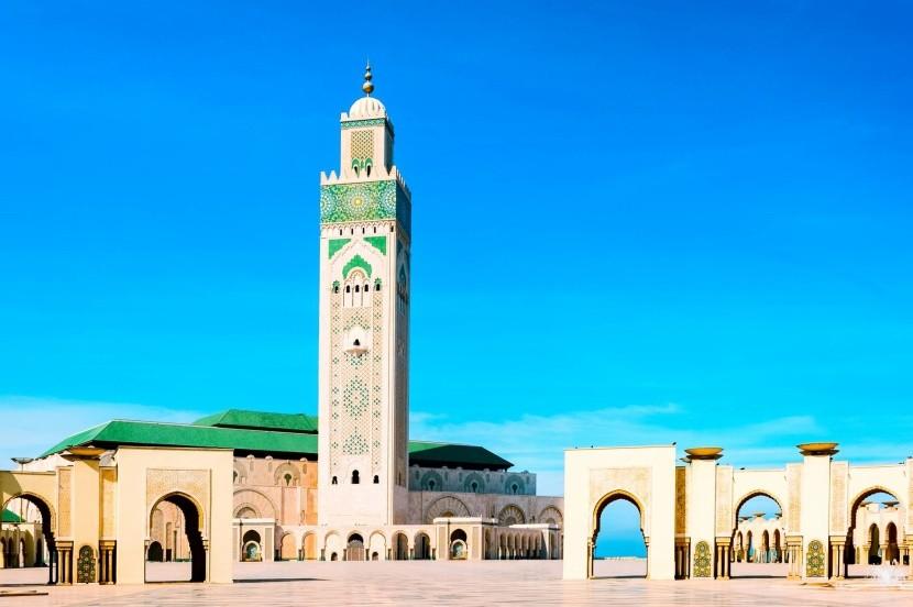 Casablanca II.Hassan-mecset minarett