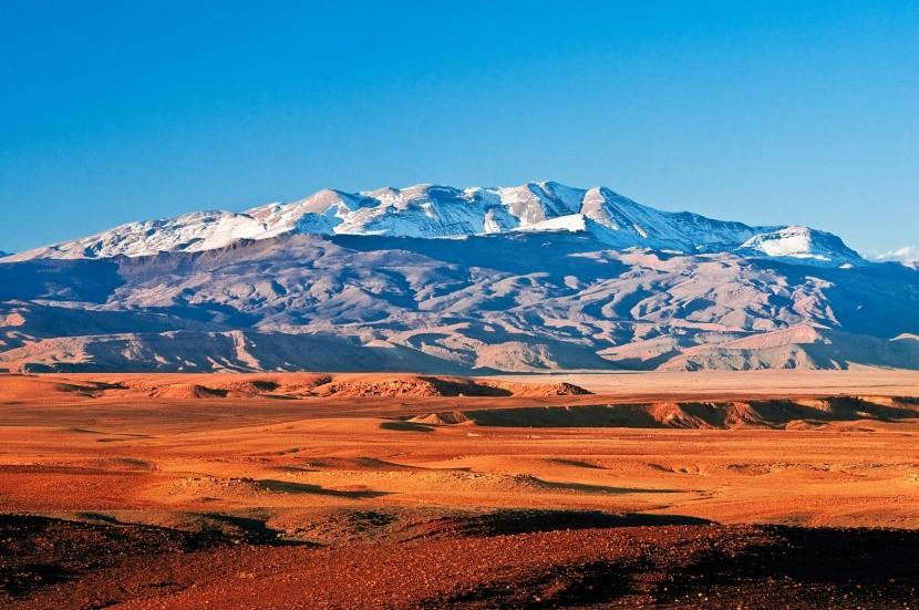 Atlasz hegység Marokkó