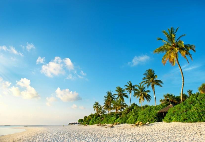 A maldív-szigeteki paradicsom