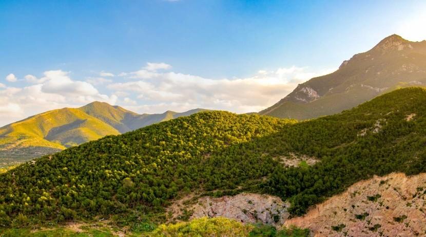 Tunéziai hegyek