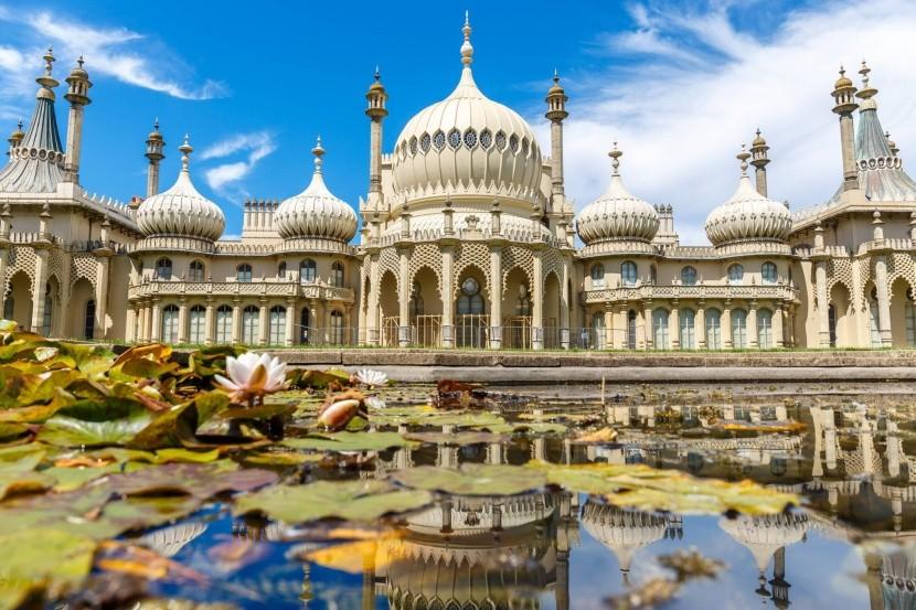 Indiai palota Brightonban