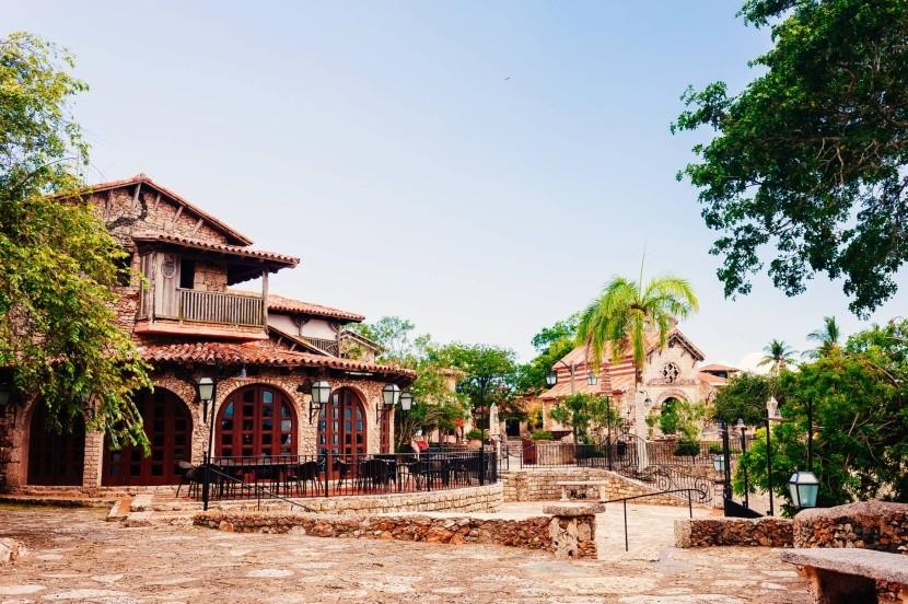 Altos de Chavon, a művészek városa