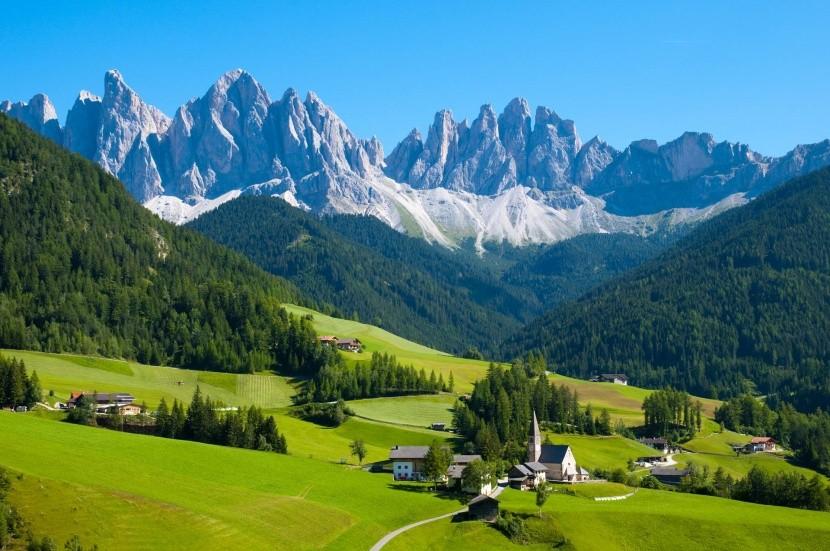 Svájc csodás tájai