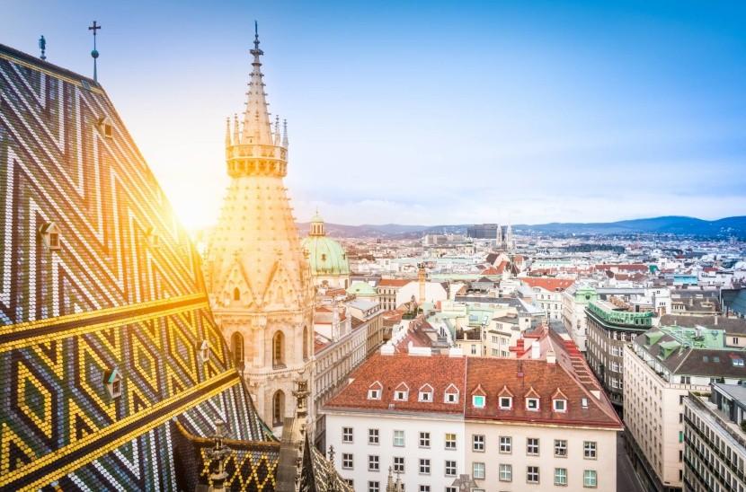 Bécs madártávlatból
