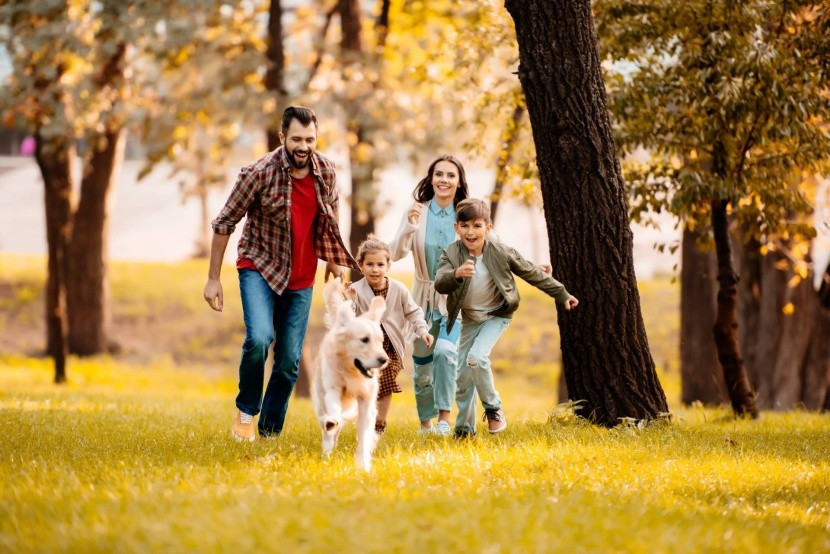 Őszi nyaralás a családdal