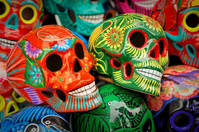 Sugar Skull - halottak napja Mexikóban