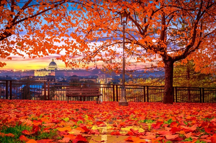 Róma ősszel