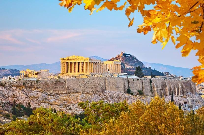 Athén ősszel