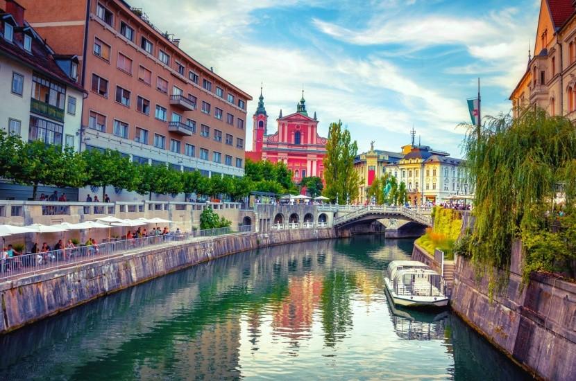 Ljubljana belvárosa