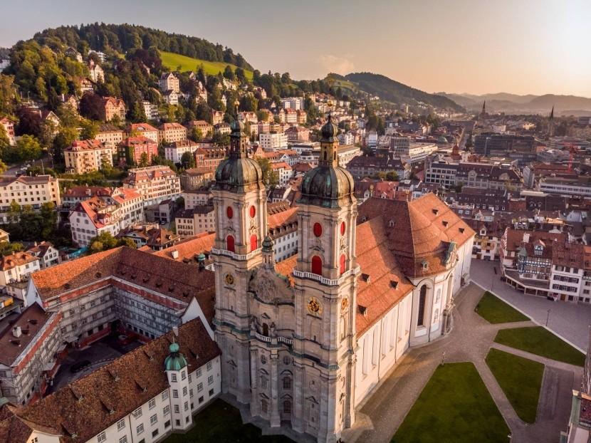 Sankt Gallen, kolostor