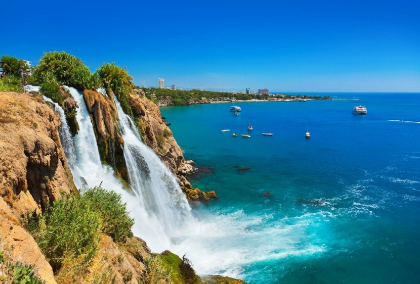 Duden-vízesés, Antalya