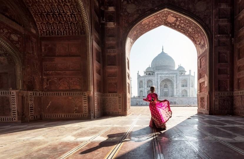 A Taj Mahal belülről