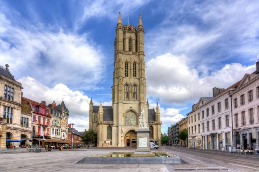 Szent Bávó temploma Gentben