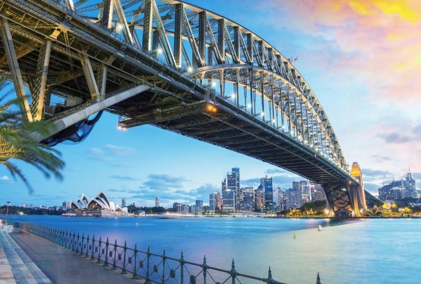 Harbour Bridge Sydney-ben