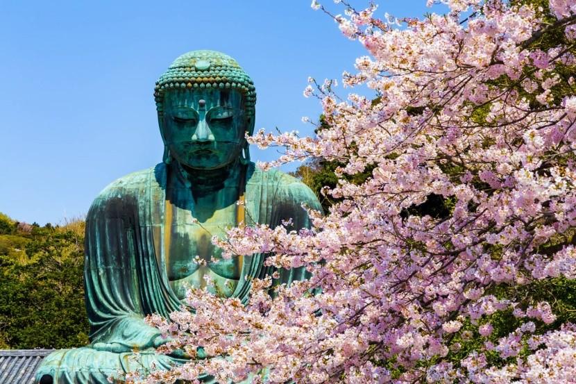 Buddha szobor Kamakura városában
